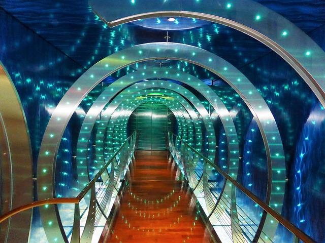tunel světla