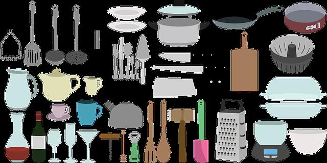 kuchyňské pomůcky