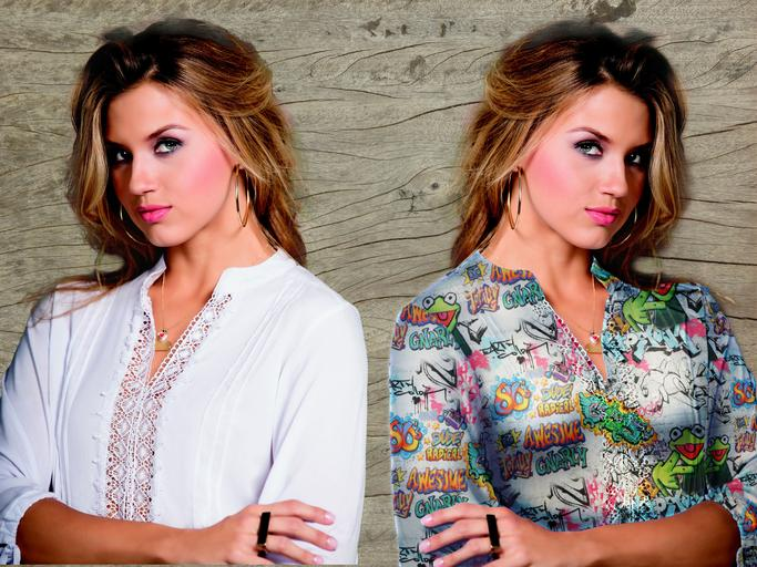 Žena, modelka, štýl, móda