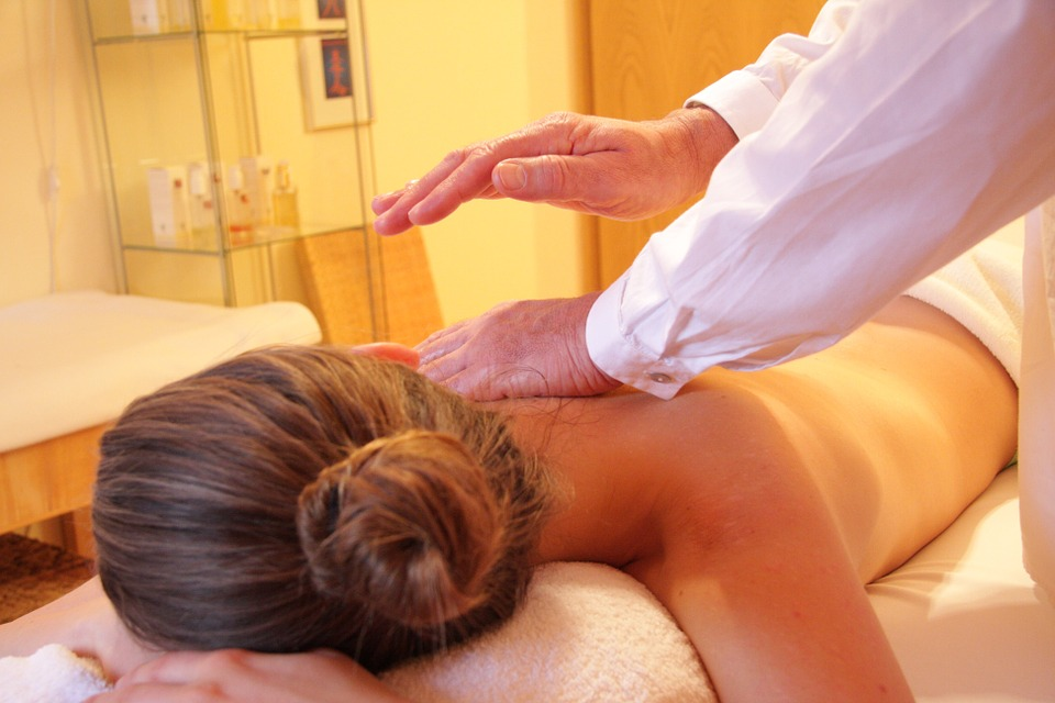 masáž, wellness