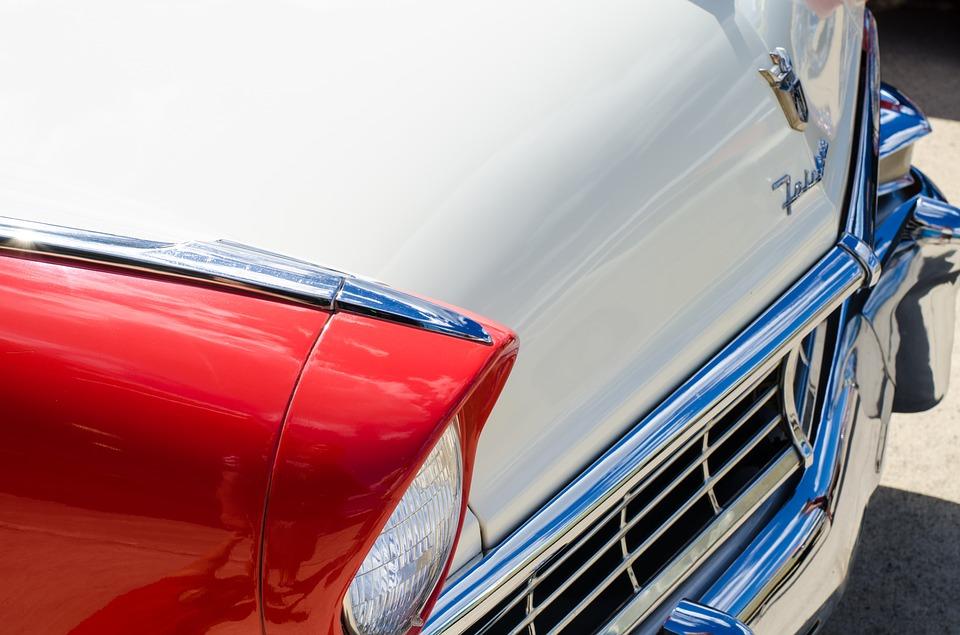retro auto, vintage